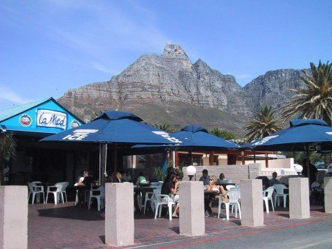 La Med Bar at Clifton Bay, Southafrica