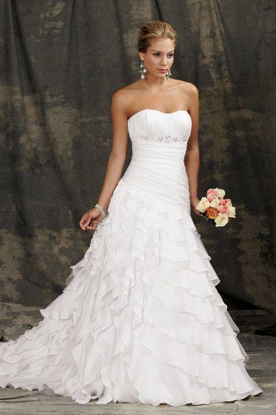Beach Wedding Dresses - Beach Wedding Dress Photos | Wedding Planning, Ideas & Etiquette | Bridal Guide Magazine