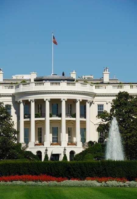 ワシントンDCへ行ったらここは行きたい、ホワイトハウス。アメリカ 旅行・観光見所。