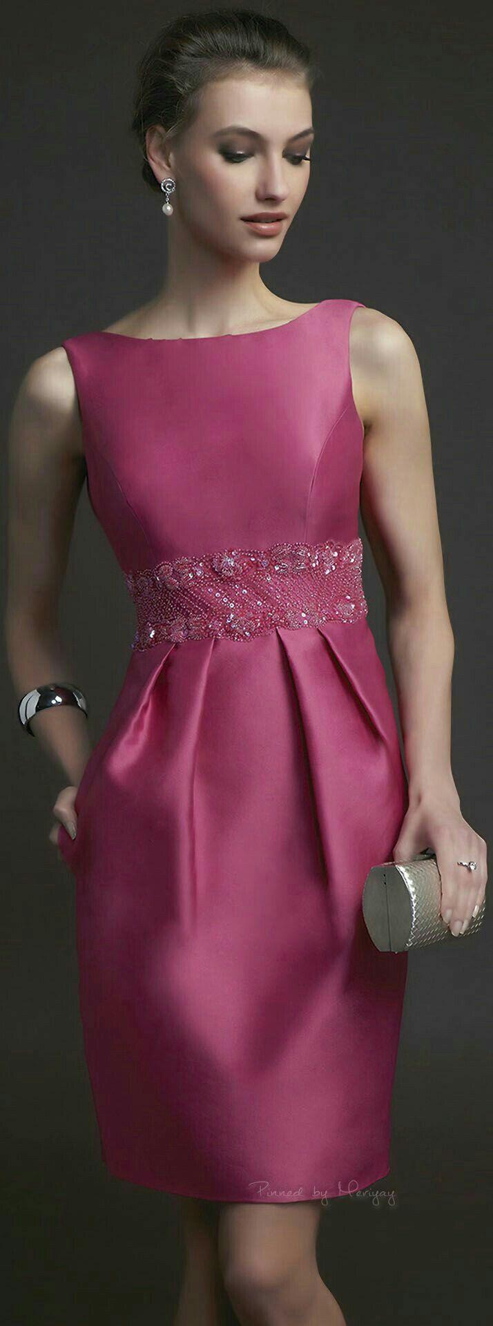 16 best Vestidos de cocktail images on Pinterest | Evening gowns ...