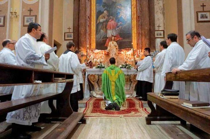 Instituto del Verbo Encarnado, consagración al Sagrado Corazón de Jesús en su capítulo general de 2016