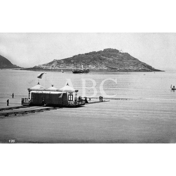 Caseta real traída desde El Ferrol a San Sebastián. se utilizó de 1887 a 1893.