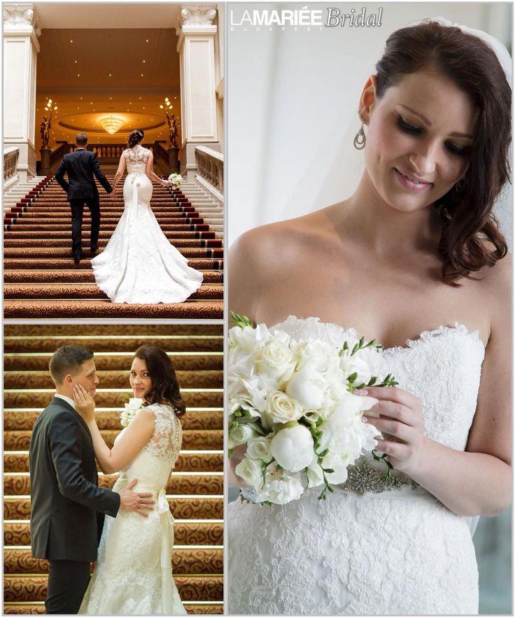 Ugalde esküvői ruha - Pronovias kollekció - Bettina menyasszonyunk - La Mariée Budapest http://lamariee.hu/eskuvoi-ruha/pronovias-2013/ugalde