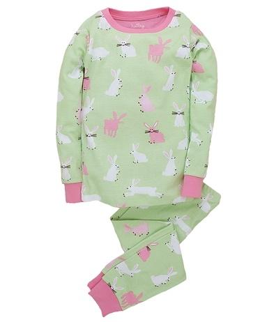 Hatley Pretty Bunnies Pajama Set