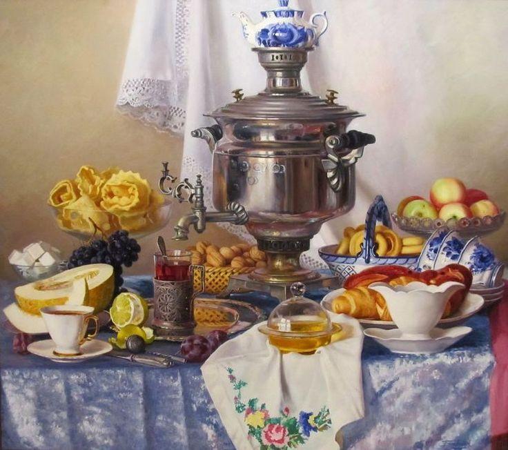 dmitrie.lyudmi — «Батаршин Анвярь. Самовар с яблоками» на Яндекс.Фотках