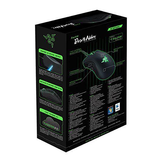 RAZER DeathAdder - Souris Gaming Mouse Ergonomique - Capteur Optique 4G 6.400 dpi: Amazon.fr: Informatique