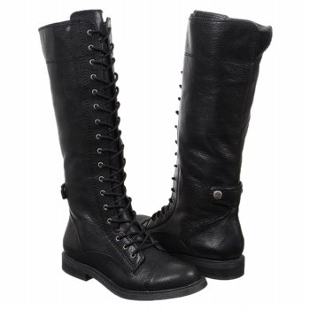Lucky Brand Black Leather Women's Blossom - StyleSays: Boots Women Blossoms, Lace Up Boots, Shoes Lust, Shoes Collection, Laceup Boots, Cowboys Boots, Newest Shoes, Lace Boots Women, Shoes Gifts