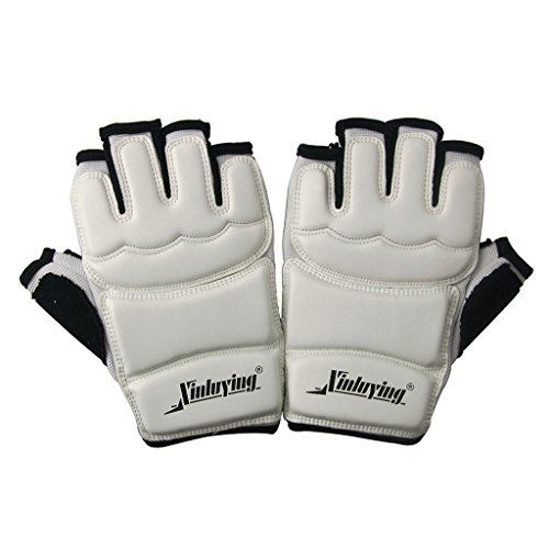 BIALSG Taekwondo Sparring Gloves Hand Protector Gear M *** More info could be found at the image url.