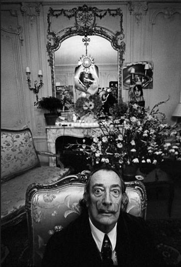 Dalí. Fotografía de Ara Güler