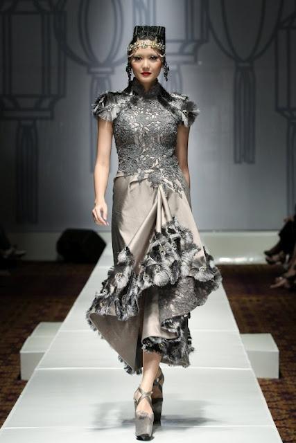 Elegant cheongsam Sebastian Gunawan collectio