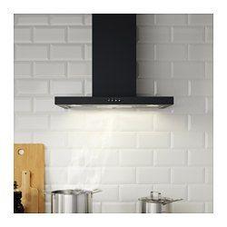 IKEA - MOLNIGT, Hotte aspirante murale, Garantie 5 ans gratuite. Détails des conditions disponibles en magasin ou sur internet.Installation possible en évacuation extérieure ou en recyclage.Panneau de commandes frontal et facile d'accès.Vous pouvez facilement retirer et nettoyer le filtre à graisse au lave-vaisselle. 2 filtres à graisse inclus.L'ampoule halogène fournit un bon éclairage au-dessus de la zone de cuisson. 2 ampoules halogènes comprises.Un design net et ...