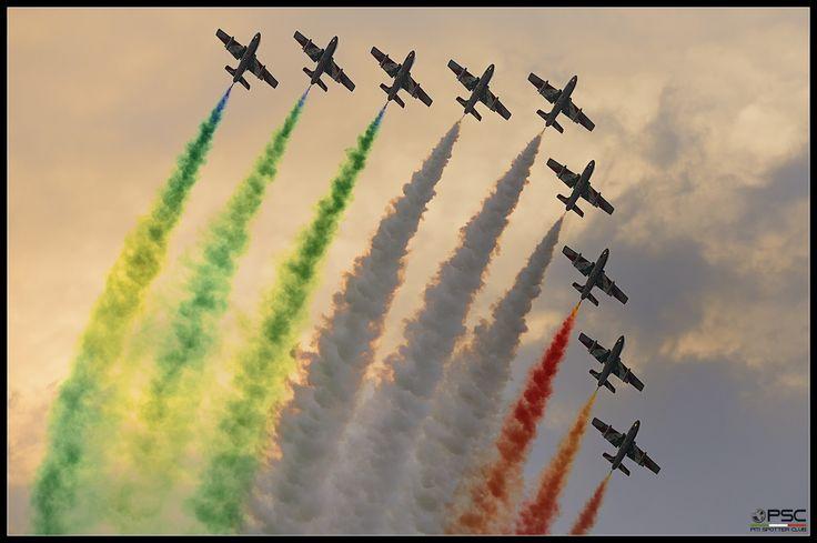Frecce Tricolori - 55simo Anniversario - Rivolto settembre 2015