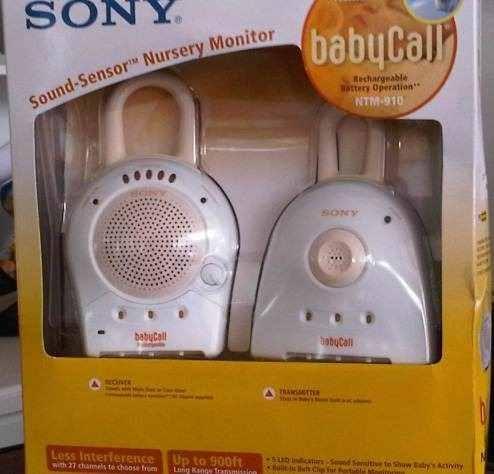 Monitor De Bebé Sony Babycall. Modelo Ntm-910dual - U$S 38,00