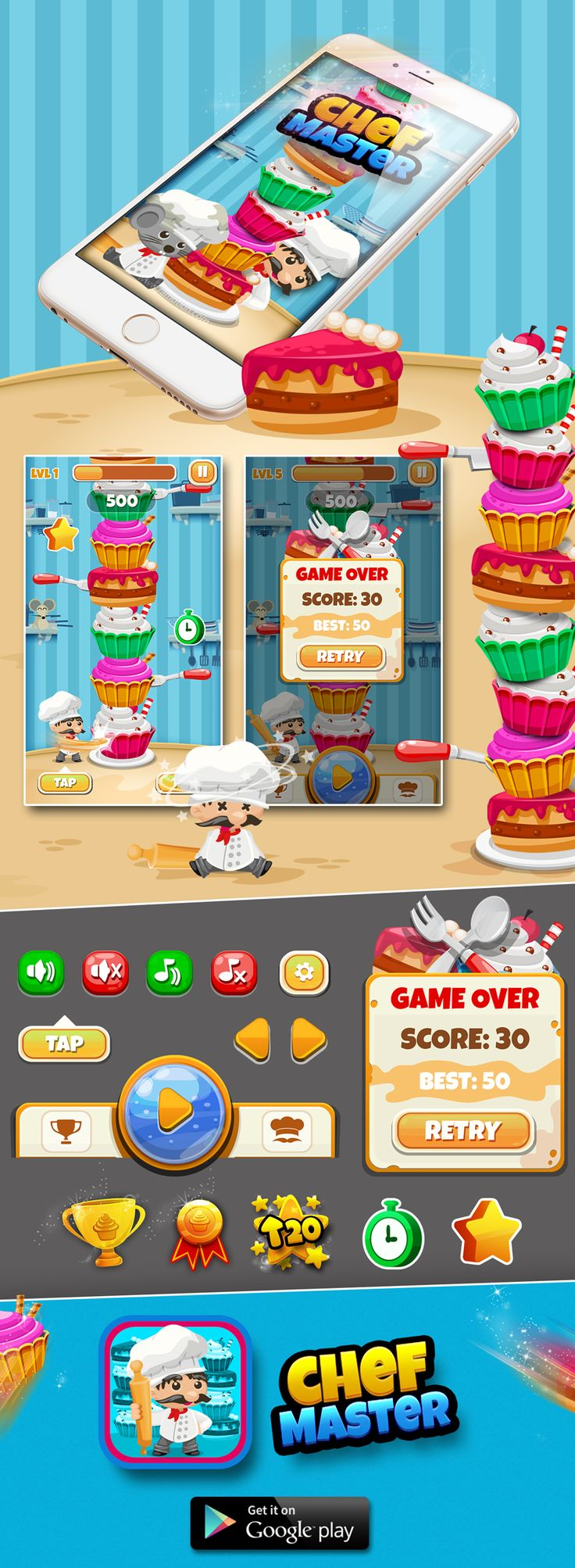 Chef Master! - Game on Behance
