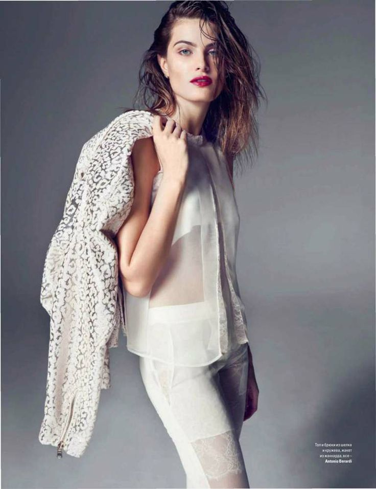 Isabeli Fontana by Marcin Tyszka - Vogue Ukraine February 2014