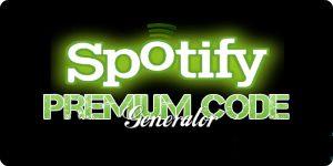 Free Spotify Premium code generator hack tool