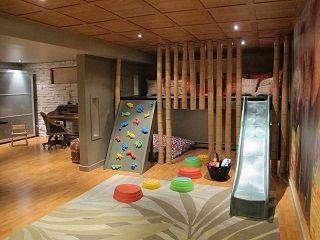 La salle de jeux d'enfants de Patrice Bélanger