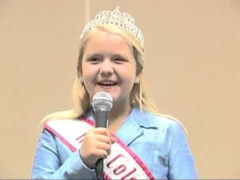 National American Miss Pageant Personal Introduction Example (Video) - State Queen