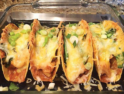 21 Day Fix Baked Tacos Recipe on Yummly. @yummly #recipe