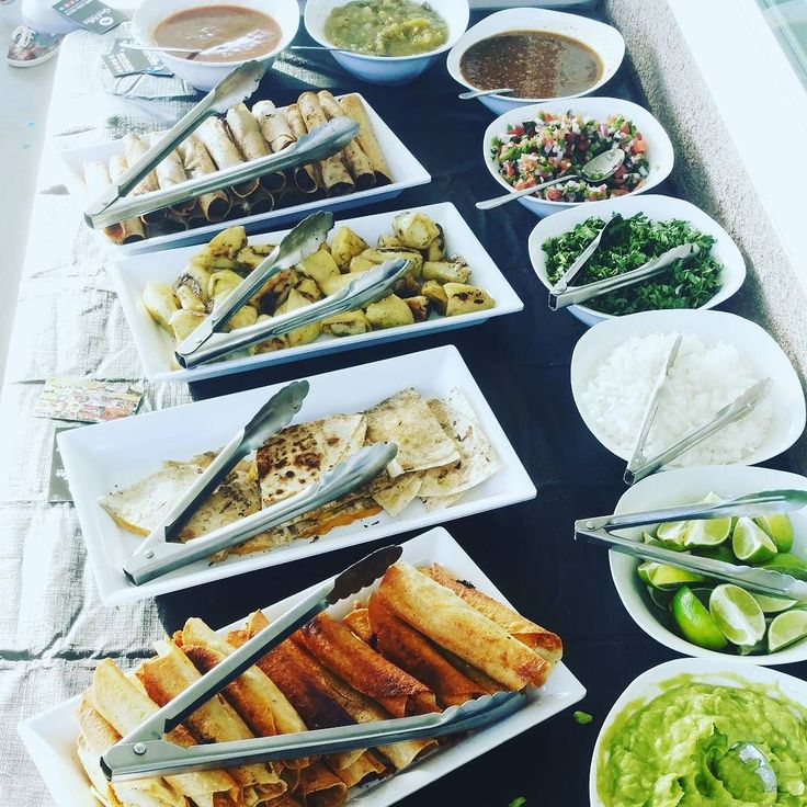 Taco Catering at its finest. Serving some great appetizers before the Tacos. Chicken and beef taquitos quesadillas and stuffed yellow peppers.  http://ift.tt/1zyWpZ7  909-333-5527  #beeftaquitos #chickentaquitos #quesadillas #stuffedpeppers #tacocatering #tacochef #tacolife #tacoman #tacocart #topchef #orangecounty #santaana #anaheim #irvine #fullerton #cypress #buenapark #lagunabeach #ocweekly #goodgrub #goodfood #bombeats #bestfriend #outdoorcatering #onsitecatering #appetizers…