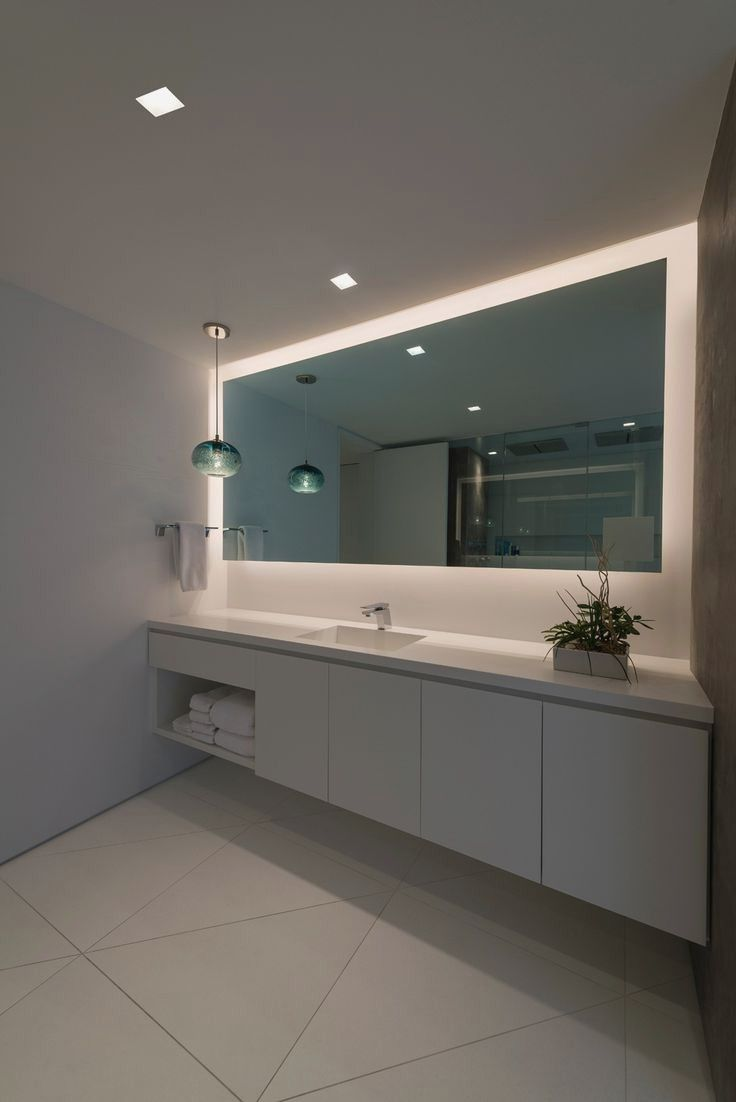 Led Mirror Light Up Mirror Long Mirror Bathroom