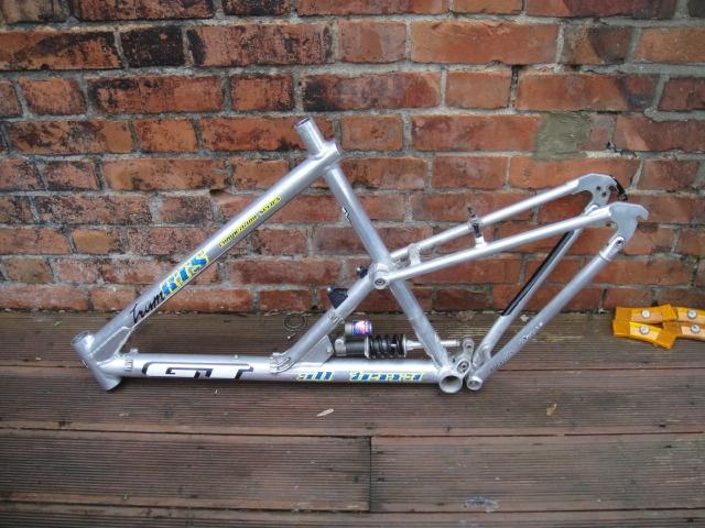 #GT Team RTS full suspension retro mountain bike frame Like, Repin, Share, Follow Me! Thanks!