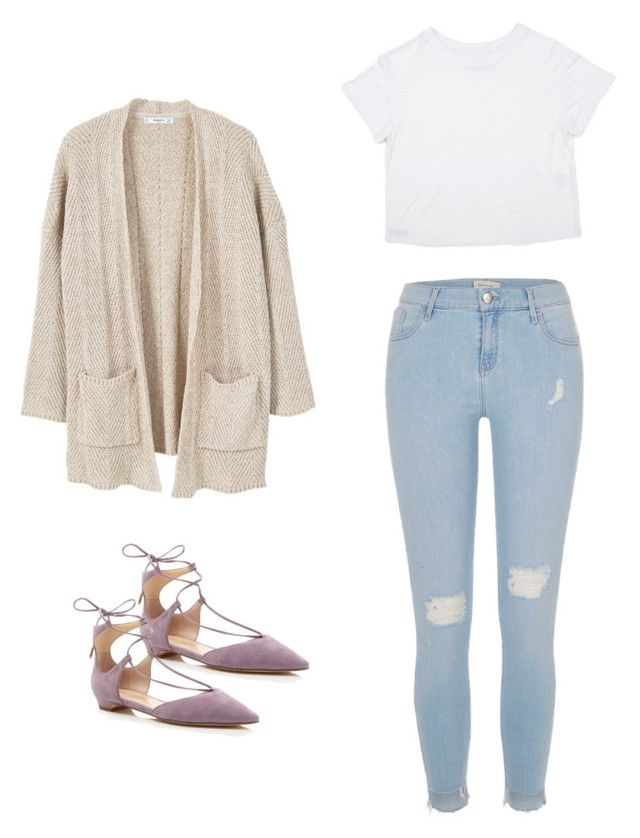 """Untitled #9"" by cass0698 on Polyvore featuring MANGO, Ivanka Trump and River Island"