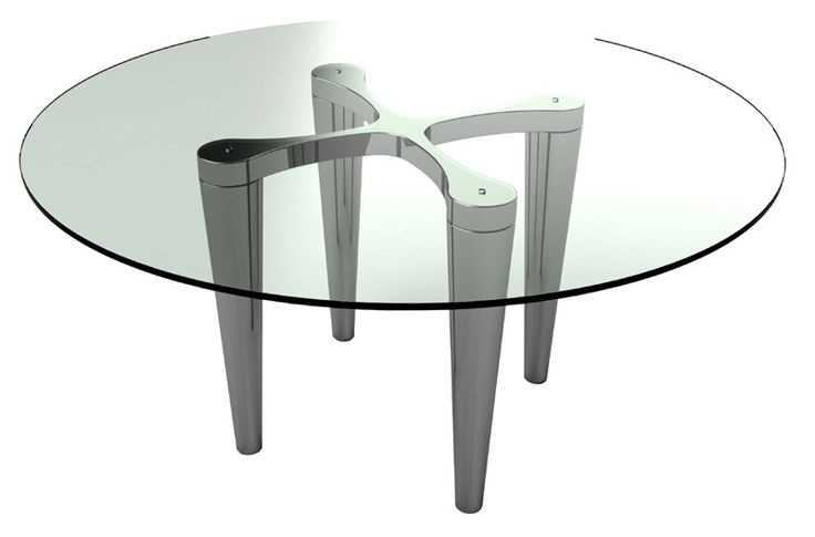 "Bellini Modern Living - Lara 60"" Round Dining Table - Lara RD DT"