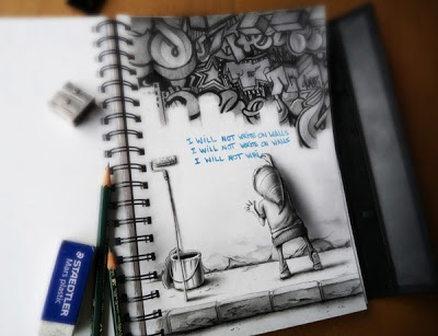 Awesome Sketchbook Drawings and Illustrations by PEZ!