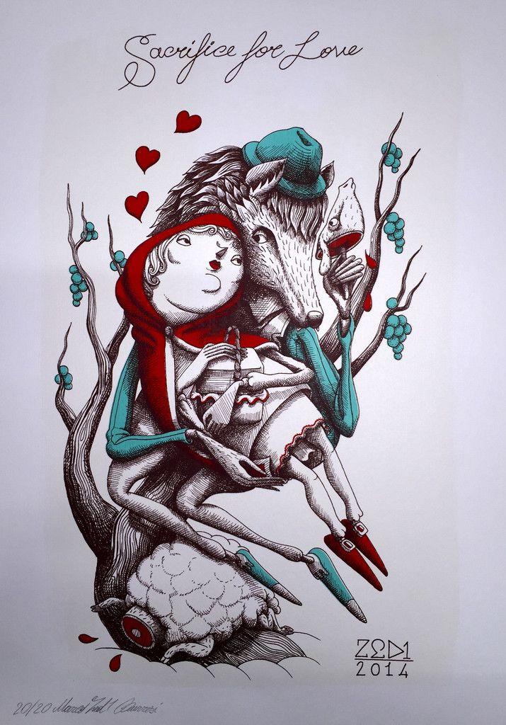"ZED1 ""Sacrifice for Love"""