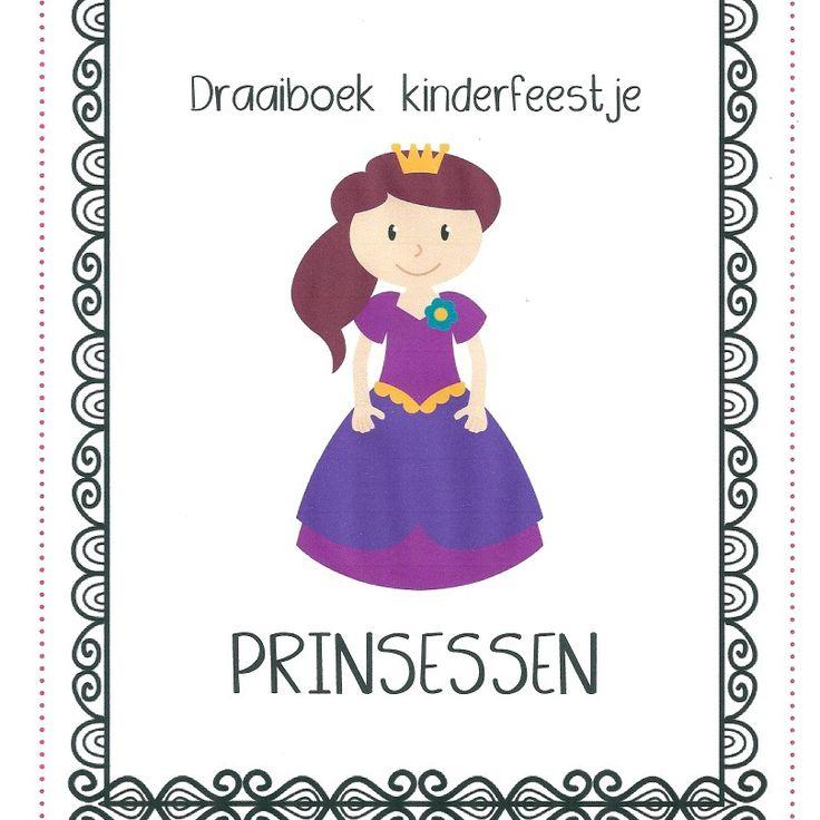 Draaiboek kinderfeestje  Prinses  Kinderfeestjes-groningen.nl