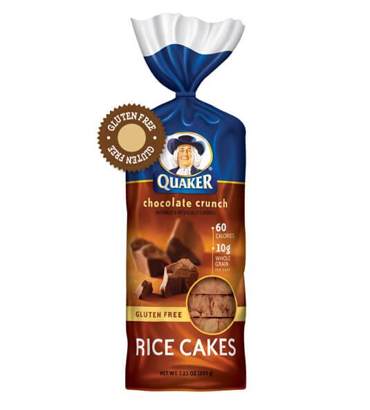 Product: More Products from Quaker - Quaker Chocolate Crunch Rice Cakes | QuakerOats.com
