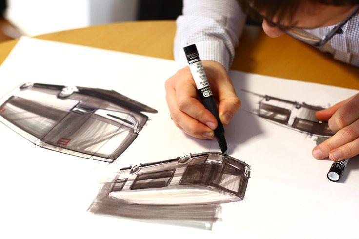 Modulo Bus on Behance Design sketch, hand drawing #drawing #designsketch