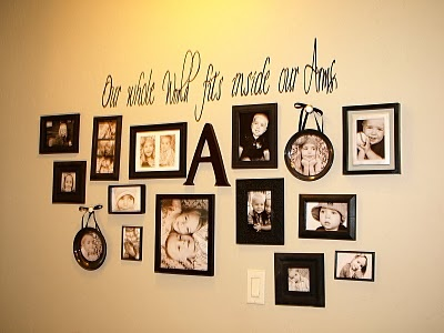 101 best Picture Collage Ideas images on Pinterest | Wall of frames ...
