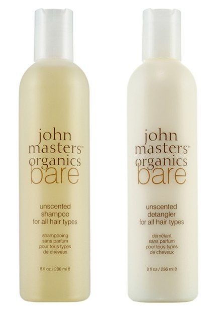 Favorite shampoo and conditioner: John Masters Organics