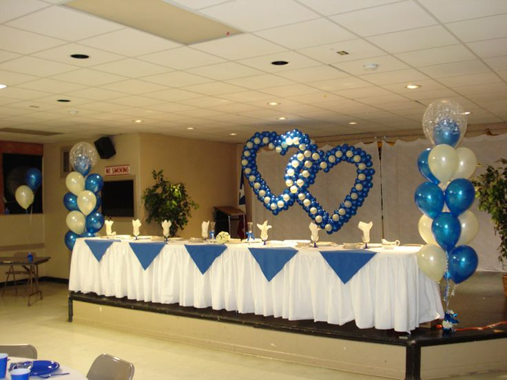 17 best ideas about balloon centerpieces wedding on for Balloon decoration for wedding