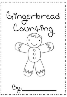 """Gingerbread Counting"" Booklet (free)"