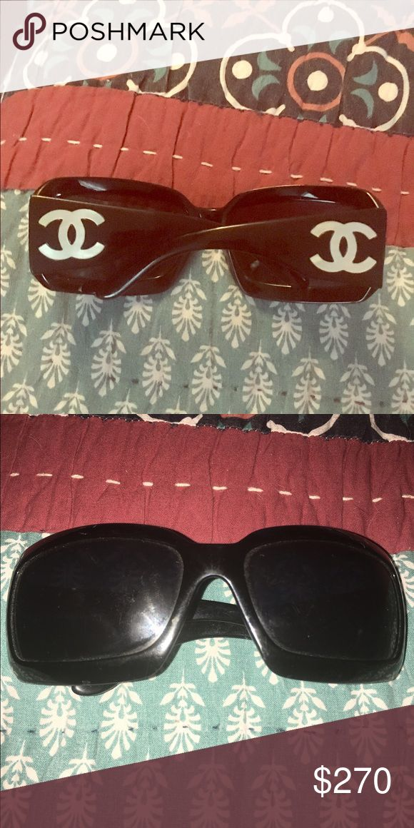 Authentic Chanel! Quick sale!! Only few hours! Rare Chanel sunglasses. Chanel Accessories Sunglasses