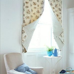 Double Sided Curtain Panel To Sew Window Treatments