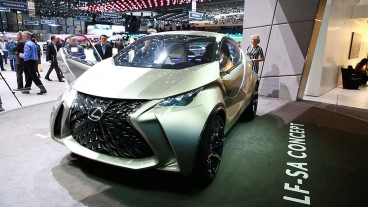 At the 2015 Geneva Auto Show, Lexus goes decidedly small with their ultra-compact Lexus LF-SA concept and rethinks the way the driver interacts with his vehicle.