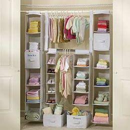 infant closet organizer