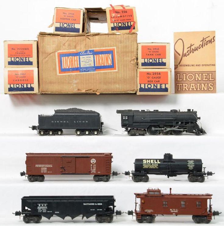 Lionel Prewar Semi Scale 291w Freight Set To Include A