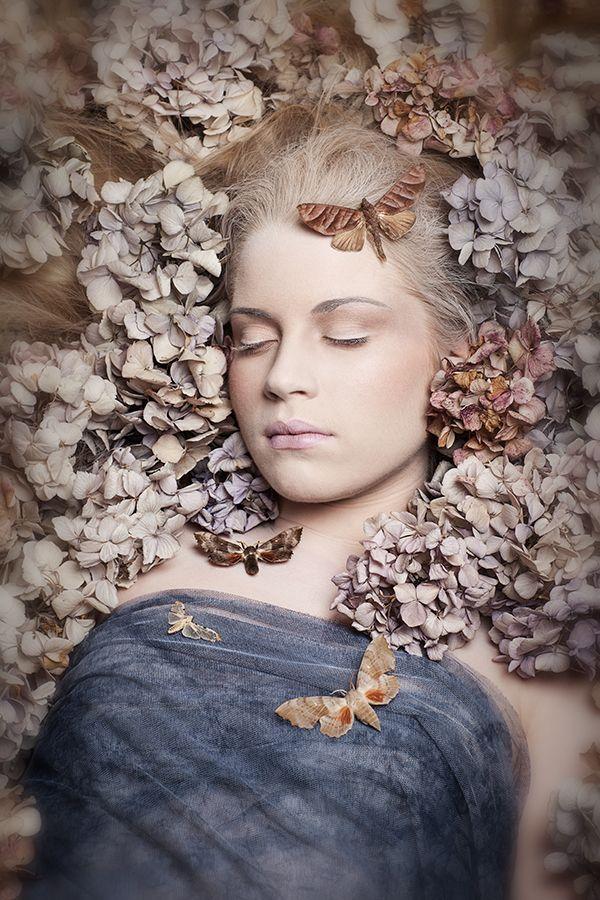 Carri Angel - Fantasy, Creative & Conceptual Photography. Sleeping Beauty, Moth