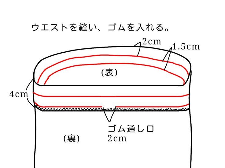 ウエストゴムのギャザースカートの無料型紙と作り方です。 直線なので切るのも縫うのも簡単です。 1日で完成できると思います。 ★他にも子供服やワンピースなどの無料型紙を公開しています→ 無料型紙まとめページ サイズ 身長160cm前後で膝下丈になり...