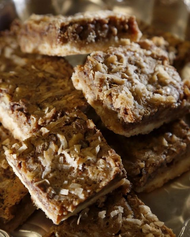 Honorable mention: Toffee Latte Nut Bars