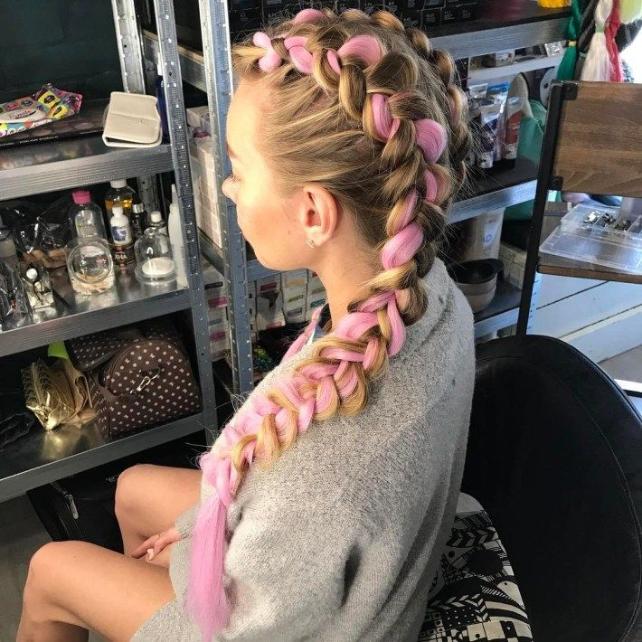 Kanekalon Braids Are Officially a Thing and Not Only for Natural Hair