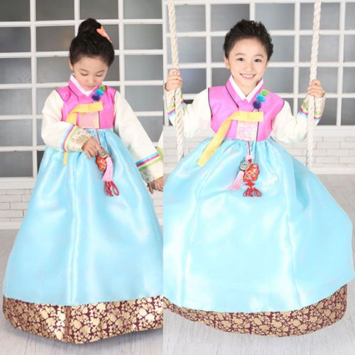 Girl HANBOK Korean Traditional Clothes Korea Women Suit Dress Wedding Party 5002 | eBay $92.50