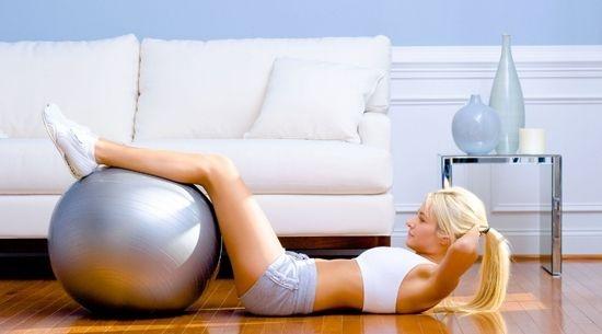 cwiczenia na płaski brzuch
