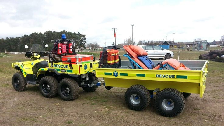 Side By Side Atv >> Rescue | UTV/ATV | Pinterest | Atv, Fire trucks and Ambulance