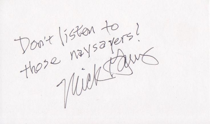 """Don't listen to those naysayers!"" -Mick Garris  Hocus Pocus (1993), The Fly II (1989) & The Fly II (1989)  @ 12-30-1899  wikipedia.org/wiki/Mick_Garris mickgarrisinterviews.com www.imdb.com/name/nm0308376/ twitter.com/search?&q=Mick+Garris  facebook.com/mick.garris instagram.com/explore/tags/mickgarris  tumblr.com/search/Mick+Garris pinterest.com/explore/Mick-Garris"